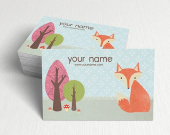 Business Cards  Custom Business Cards  Personalized Business Cards  Business Card Template  Modern Business Cards  Bird Business Card A1