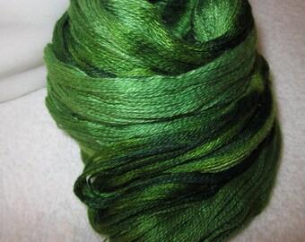 Cashmere Silk Yarn (Grace's Greens) 190 yds 174 meters