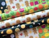 Pick 'n' Mix Gift Wrap - any 5 sheets - 3 kawaii designs