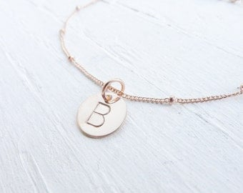 Rose Gold Bracelet Personalized Initial Bracelets Rosegold Jewelry Pink Gold Letter Braclets Wedding Party Gifts Custom Charms