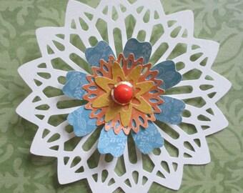 Lace Doily Flower