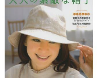Handmade Hats n4018 Japanese Craft Book