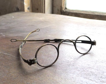 Early Antique Spectacle Frames