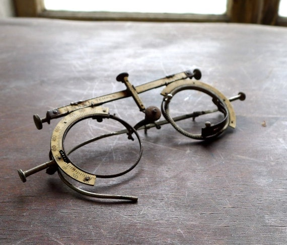 Antique Optometrist Eye Test Frames