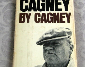 Vintage Biography James Cagney Cagney by Cagney H/C D/J 1976