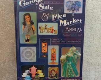 "Vintage Hardcover Book ""Garage Sale & Flea Market Annual"" 1993 First Edition"