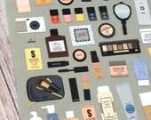 Like It - Make Up Cosmetics Sticker