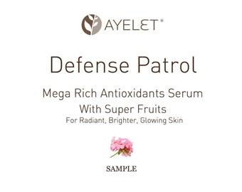 Super Fruits Antioxidants Serum  Vitamin C Serum  Firming Face Serum  Natural Skincare  MatureFace Serum  Damaged Skin Serum  Sample Serum
