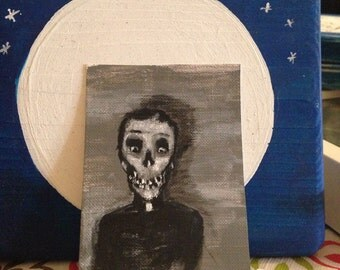 Zombie priest, after death aceo