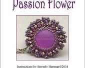 Passion Flower Pendant Instructions PDF-File