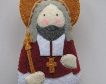Saint Oliver Plunkett Felt Saint Softie