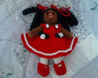 6.5in Curley Girl Doll 2