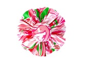 FABRIC FLOWER Add on: Made from Lilly Pulitzer Pink Colony Fabric