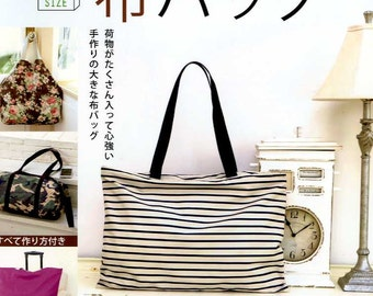 Big Size Fabric Bags - Japanese Craft Book