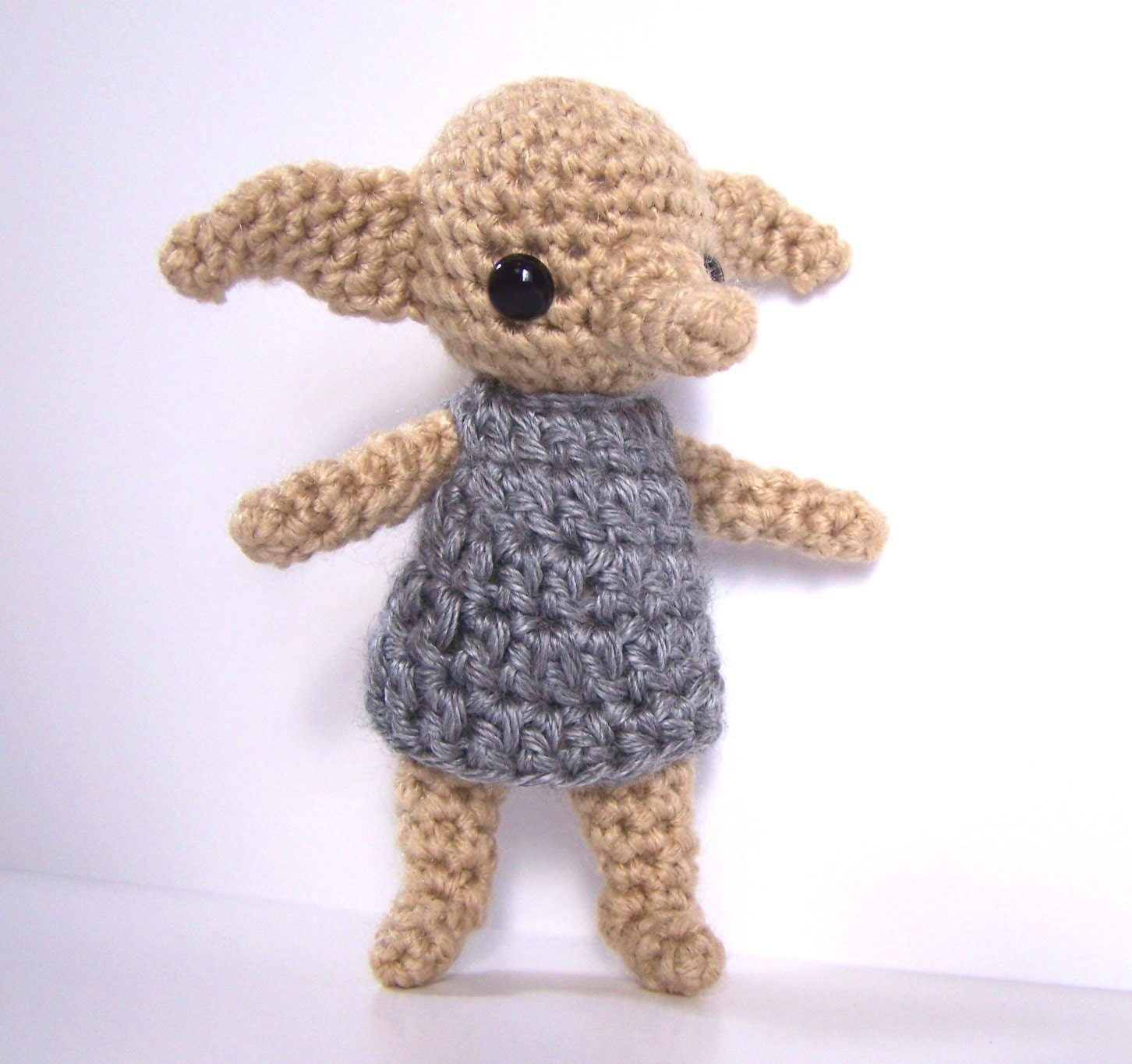 Dobby Harry Potter Amigurumi : Dobby House Elf Amigurumi Crochet Harry Potter Baby Nursery