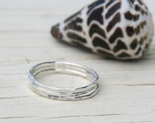 Silver Ring, Stacking Ring, Hammered Ring, Sterling Silver Ring, Silver Hammered Ring, Silver Stacking Ring, Hammered Stacking Ring,