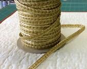 Gold Metallic Braid - 5 Yards - 6.00 Dollars