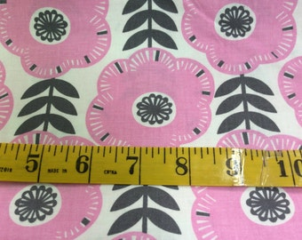 Libby - From Michael Miller - Pink Floral - 7.75 For 1 Yard