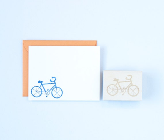 Bicycle Stamp