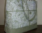 Peggy Tote - Paris Map