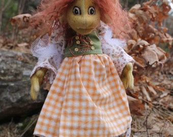 Huldfrejya, the troll queen from Tangled Magick, Book and pattern package