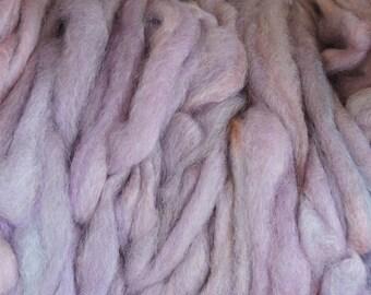2  oz Mohair Roving Lavender J4