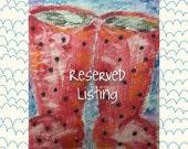 Reserved for Margaret