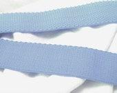 light blue comfort plush waistband elastic, 1 inch wide