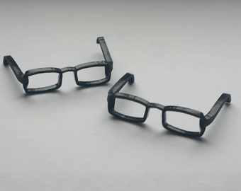 Minature spectacles frames for cake decoration