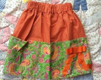 Handmade Toddler Skirt 4T/Toddlers 4