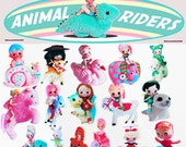 stickers cute big eye dolly animal rider boopsiedaisy sticky poos