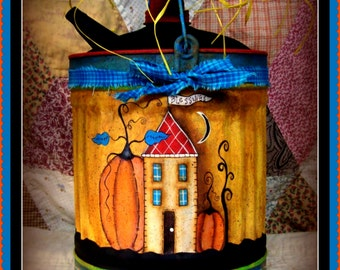 Apple Tree Cottage Origanl Design E Pattern - Autumn Blessing