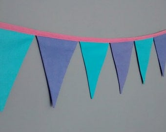 SALE - Fabric Pennant Bunting Banner