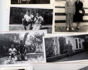 Lot of 40 Original 40s 50s photos horses, babies, puppies, Deer, outdoor camping