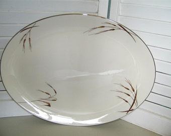 Vintage Flintridge China Santana Platter Large 7436