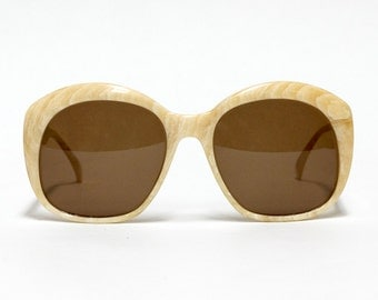 Robert la Roche 1980s vintage sunglasses - Oversized French designer sunglasses in new old stock condition with new lenses.