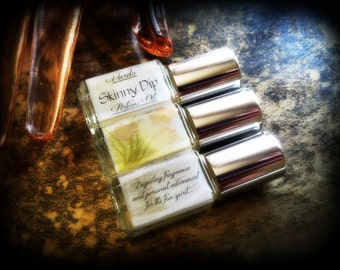 Skinny Dip Perfume Oil - Vanilla Musk Cotton Candy