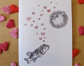 Puffer Fish Card