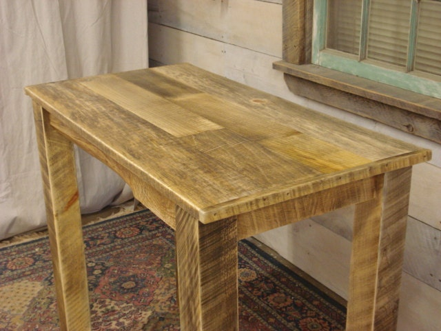 Rustic Dining room Table Counter Height Farmhouse 42