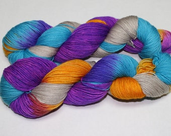 Ready to Ship - Wanderer Hand Dyed Sock Yarn - Sport Sock