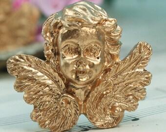 Golden Angels  Miniatures Figurine Heads