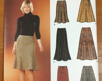 Simplicity 5914 Skirts in two lengths Sewing Pattern Sizes 6-8-10-12-14 Great for Summer tulip or boot
