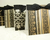 Reserved for Stephanie Simplicity Black & Brown Gift Cards Set of Eight