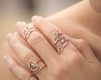 14k Cherry Blossom Ring