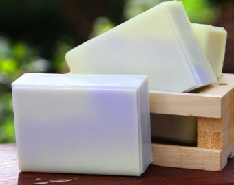 Sweet Citrus and Lavender Soap - Handmade Shea Butter Soap // Gifts for Her