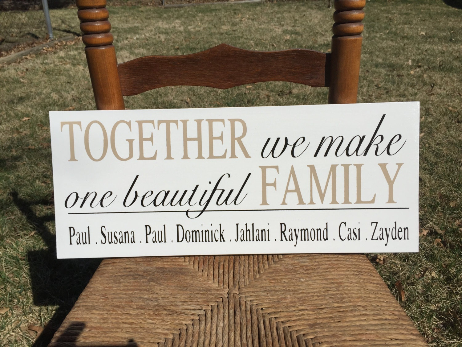 Wedding Gift Ideas Blended Family : Blended Family Sign Etsy - 1500x1125 - jpeg
