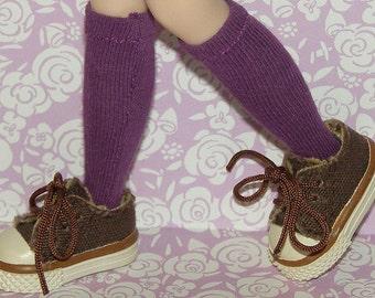 Short Purple Socks For Blythe...One Pair Per Listing...