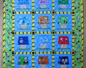 PEANUTS CALENDAR Quilt from Quilts by Elena
