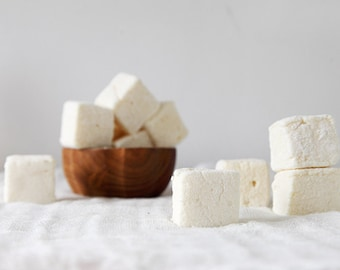 Passionfruit Marshmallows, handmade gourmet marshmallows