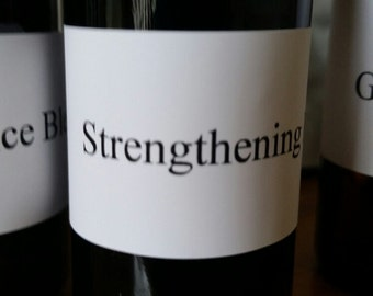 Strenghtening Pure Essential Oil Blend with Spruce Frankincense Rosewood and Blue Tansy